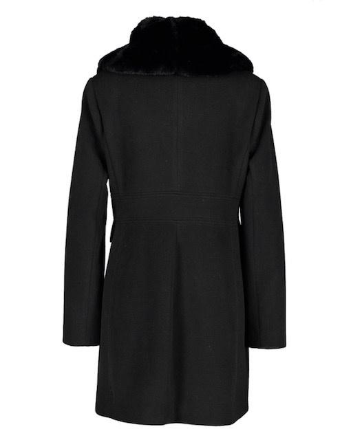 Fracomina A/W coat col black Fracomina