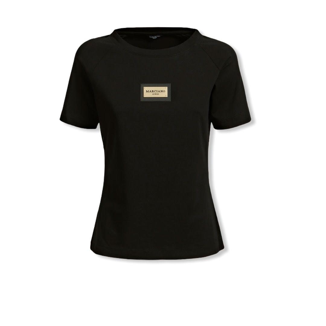 Guess by Marciano A/W Shirt Zwart Logo Guess By Marciano