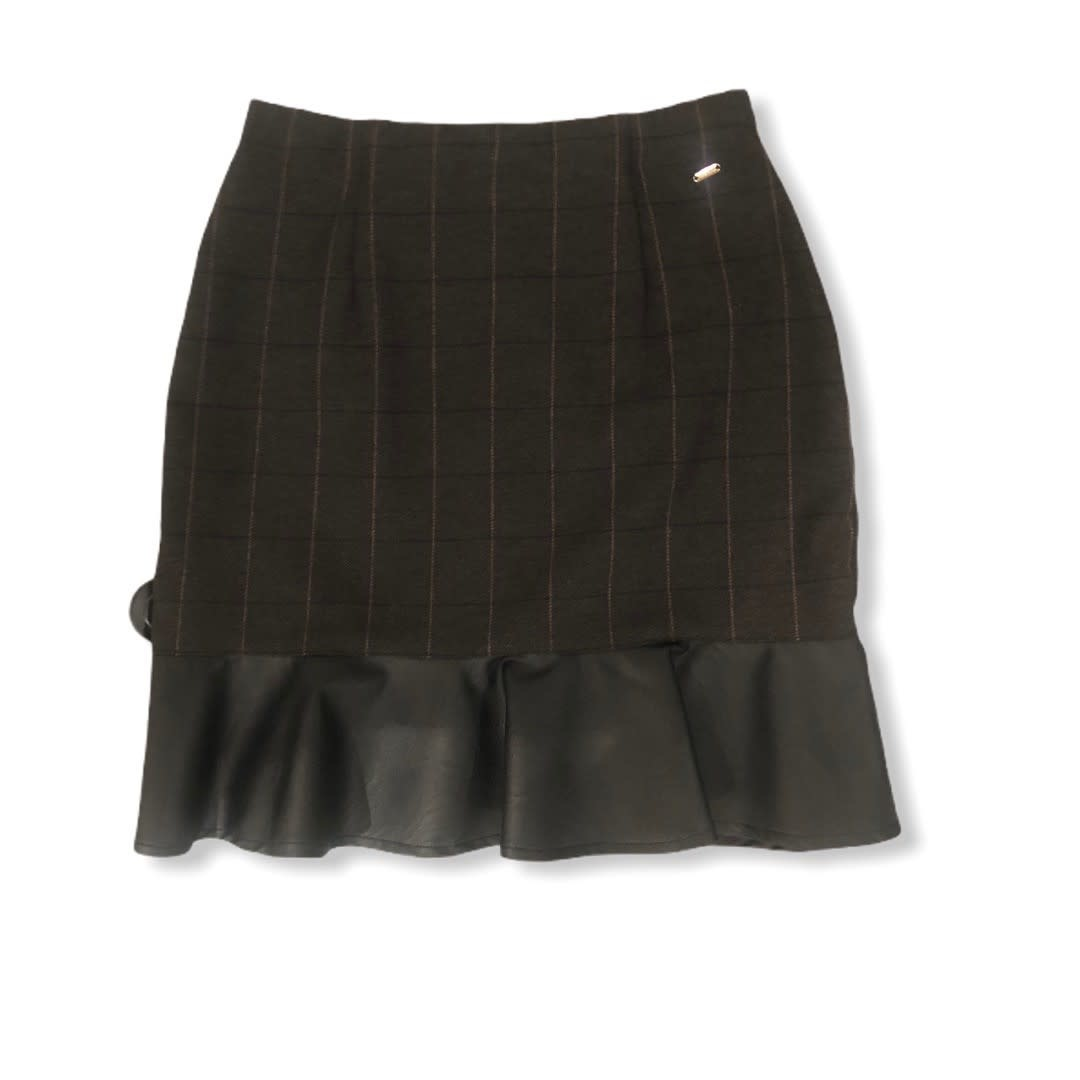 Fracomina A/W short Skirt Dark caffe Fracomina