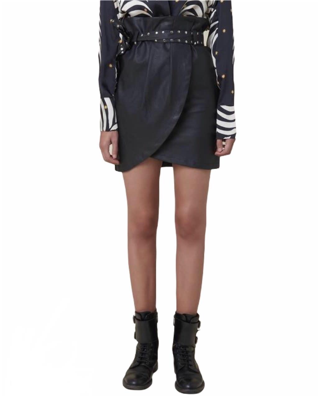 Silvian Heach A/W Skirt Birthsean black Silvian Heach