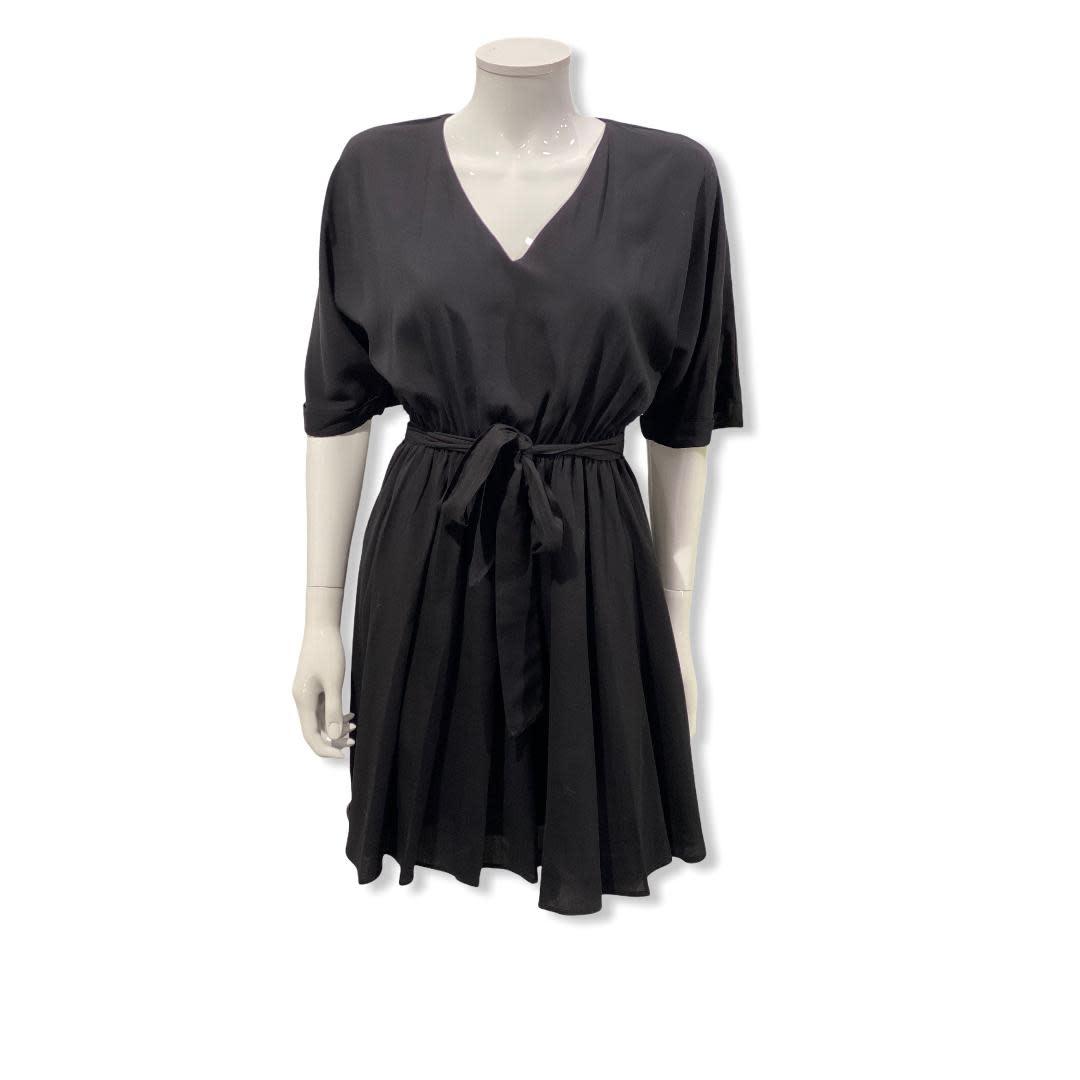 Fracomina S/S Short Dress black Fracomina
