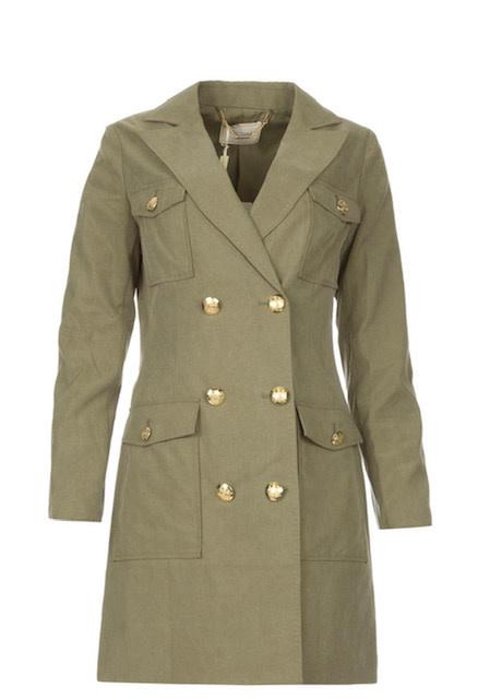 Fracomina S/S Jacket Dress Fracomina