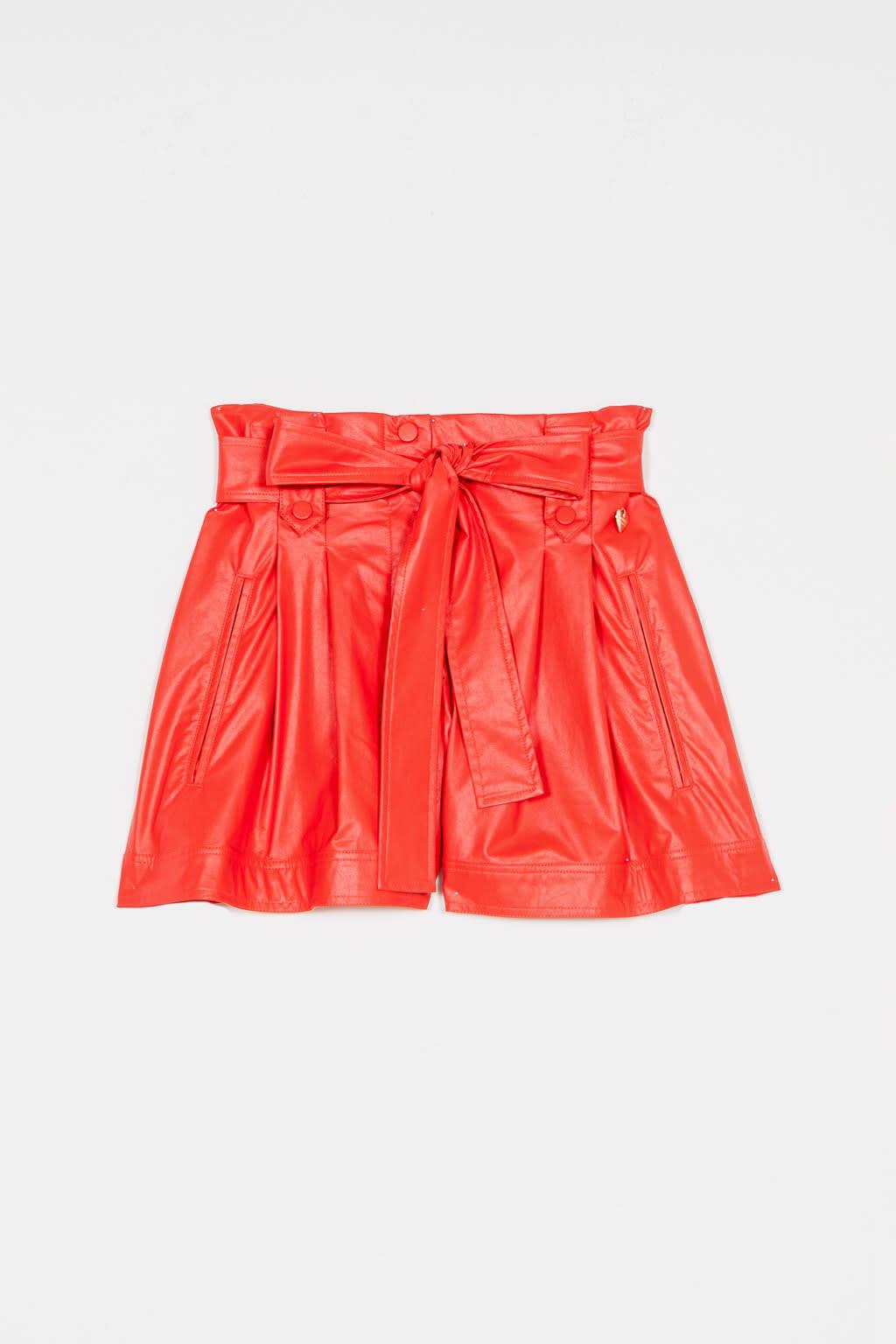Twin-Set S/S Shorts red orange Twin-Set