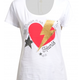 Liu.Jo S/S T-shirt Heart thunder Liu.Jo