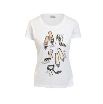 Liu.Jo S/S T-shirt moda shoes Liu.Jo