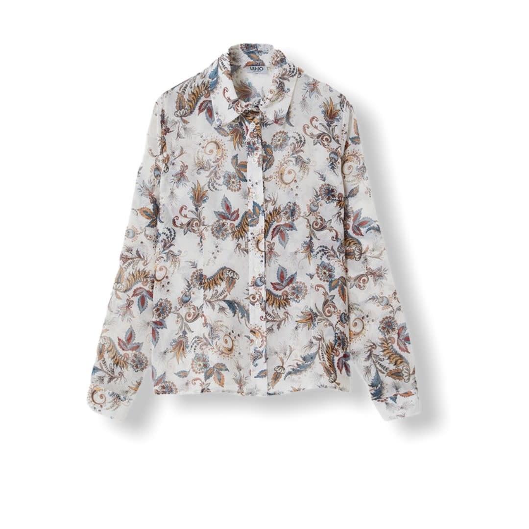 Liu.Jo S/S Blouse camicia paisley Liu.Jo