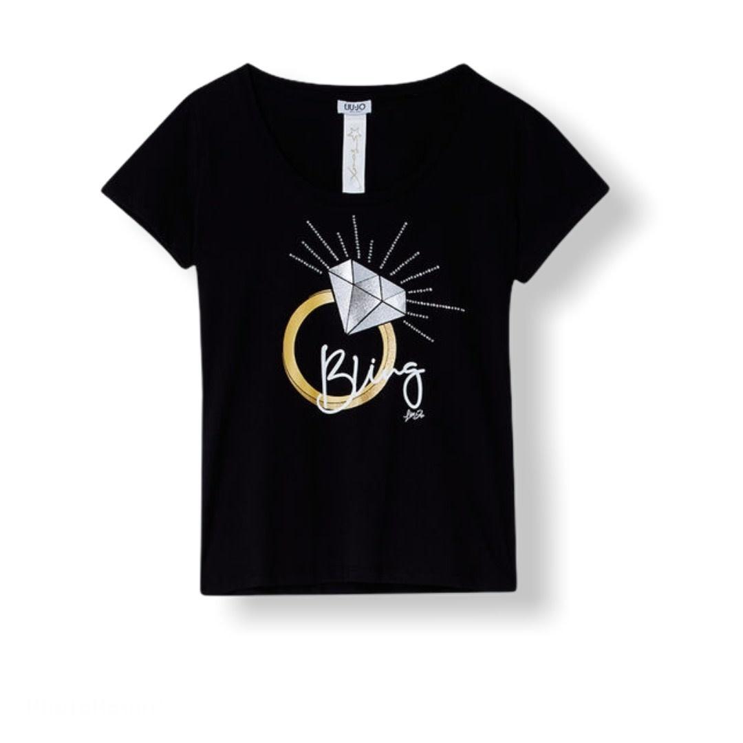 Liu.Jo S/S T-shirt Moda Bling Liu.Jo
