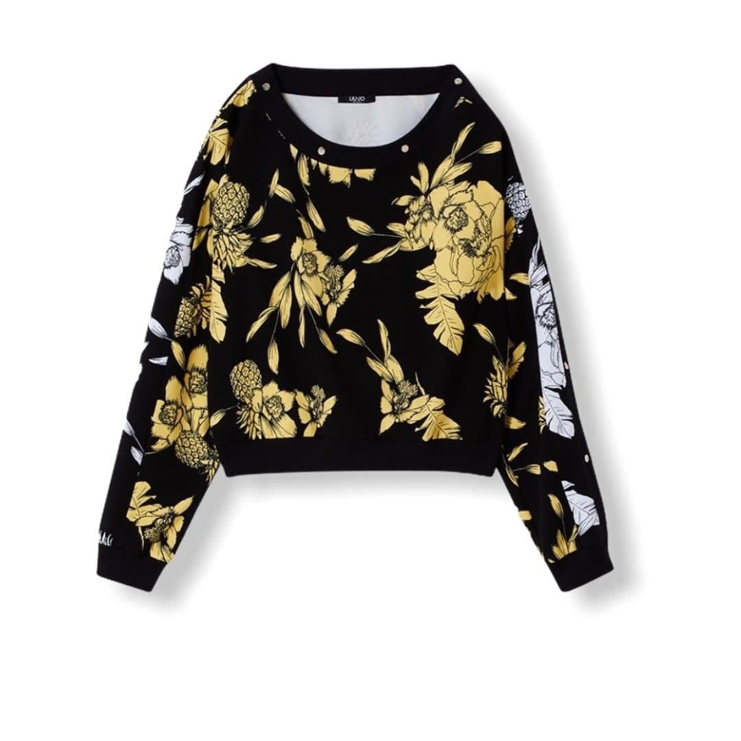 Liu.Jo Sport S/S Sweater felpa soft sun Liu.Jo