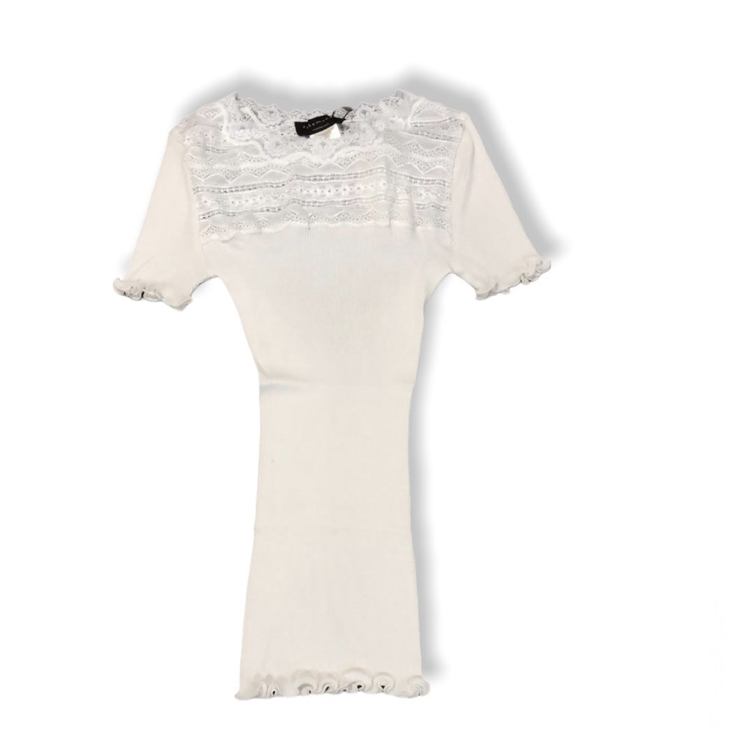 Rosemunde A/W Silk t-shirt regular wide lace new white Rosemunde