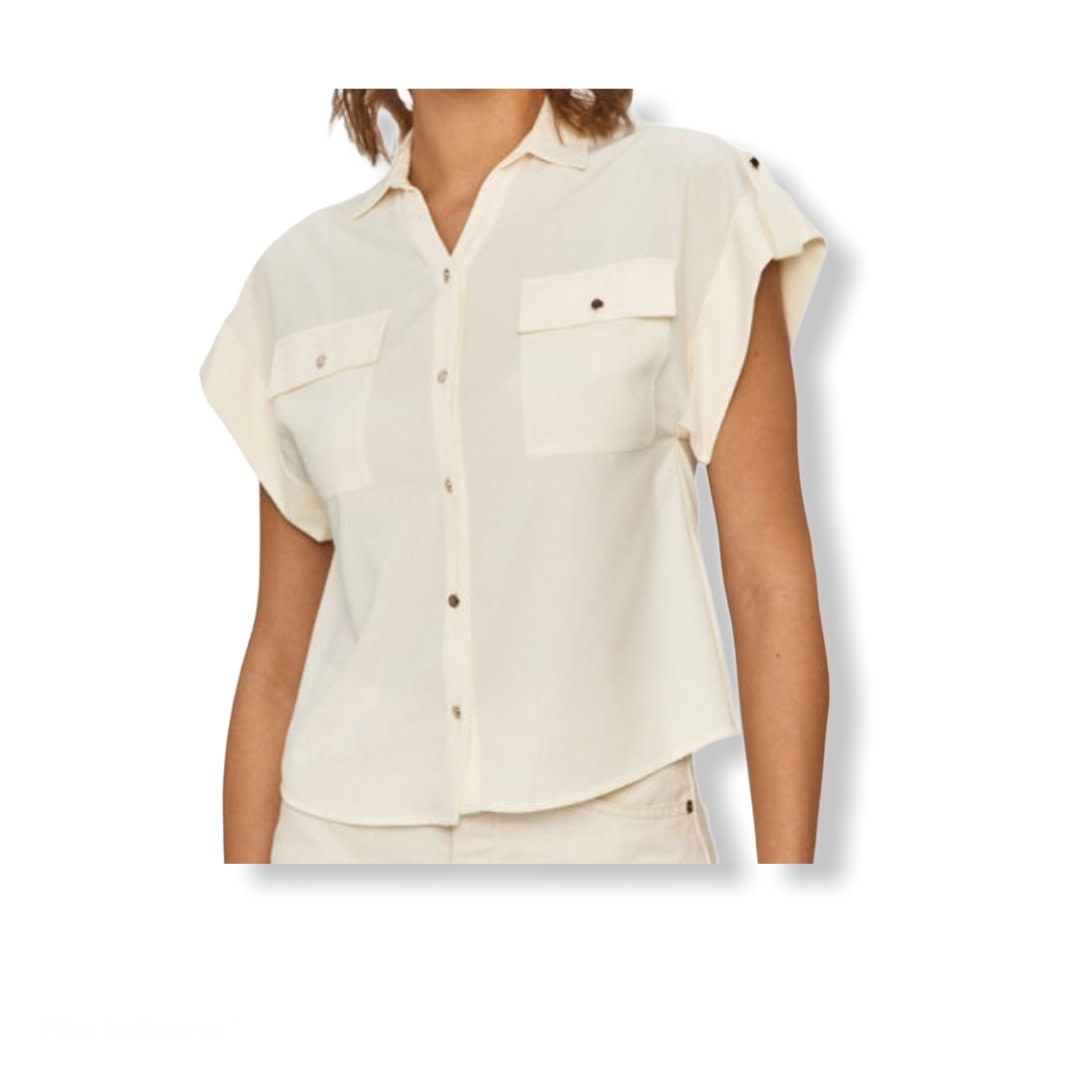 Silvian Heach S/S Shirt Pucey Silvian Heach
