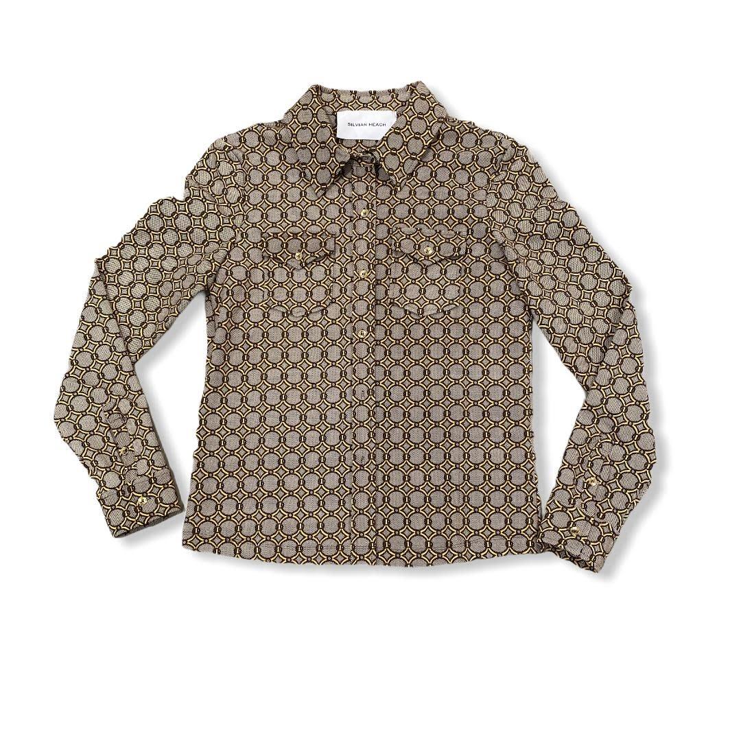 Silvian Heach S/S blouse Orvoloson Silvian Heach