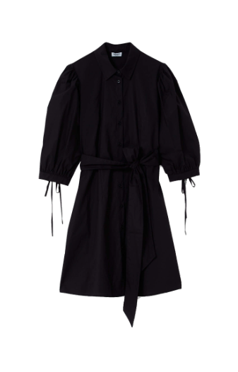 Liu.Jo S/S Blouse jurk zwart Liu.Jo