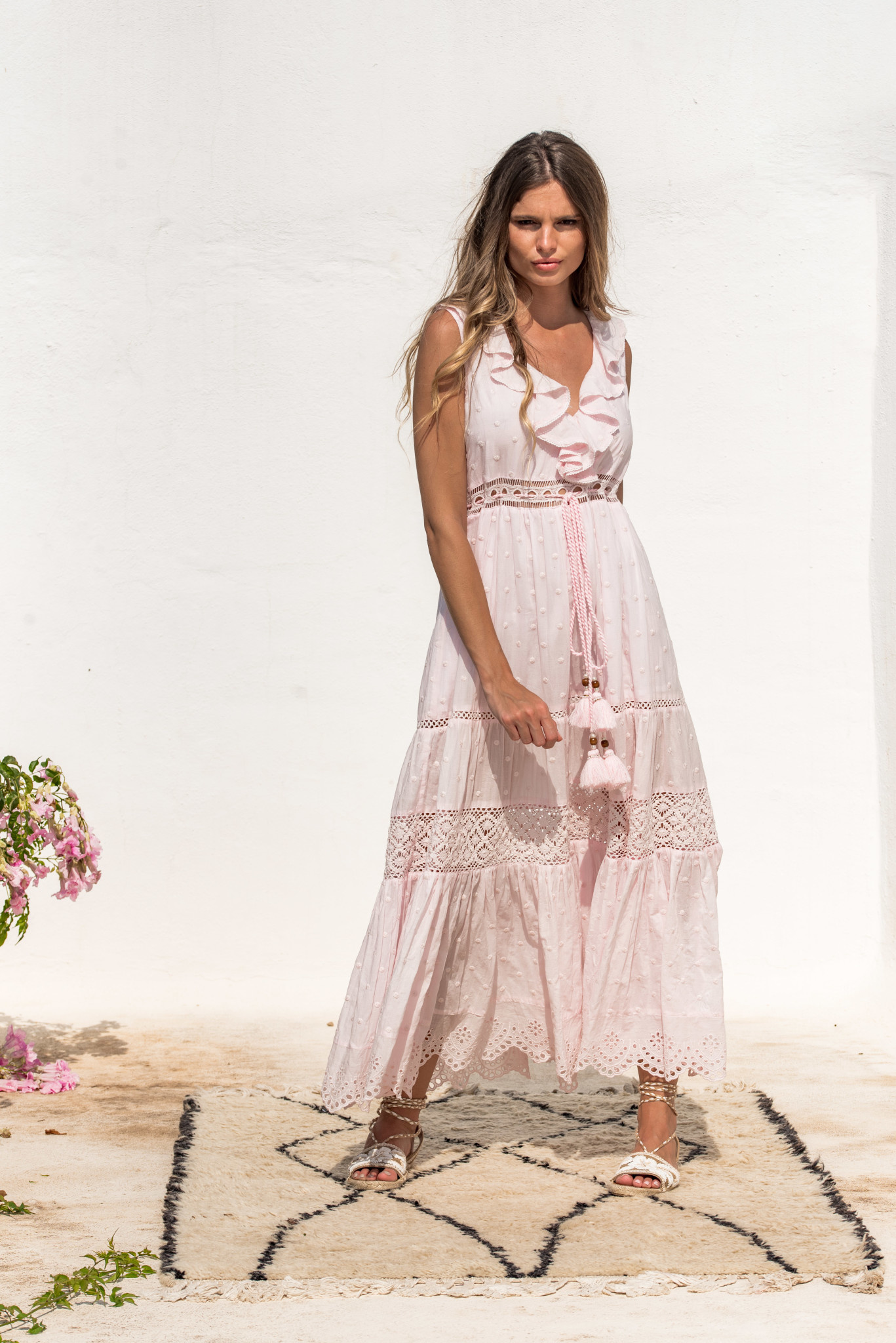 Piti Cuiti S/S Angela Dress pink Piti Cuiti