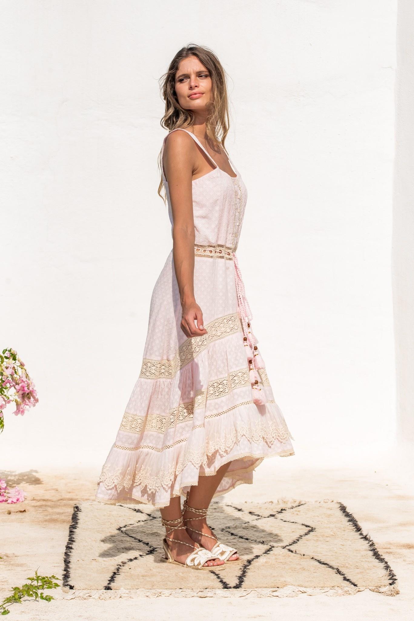 Piti Cuiti S/S Dress clea pink Piti Cuiti