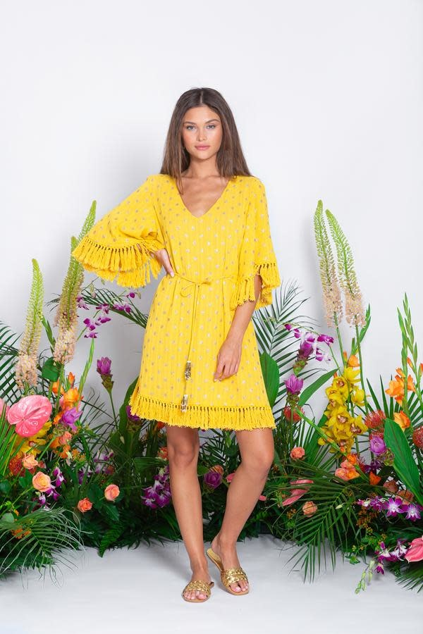 Sundress S/S Janna short dress dubai banana Sundress
