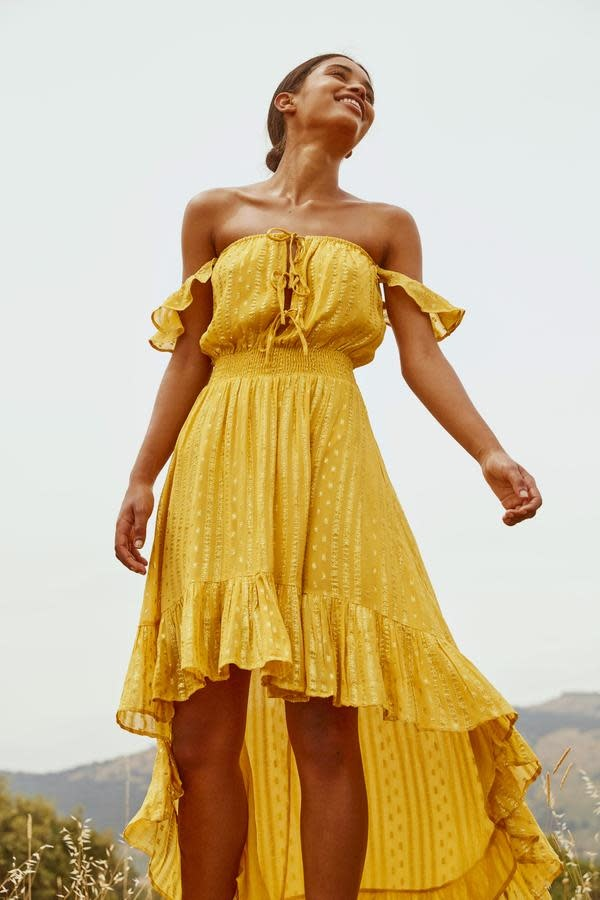 Sundress S/S  Avery Dress La Paz Banana Sundress