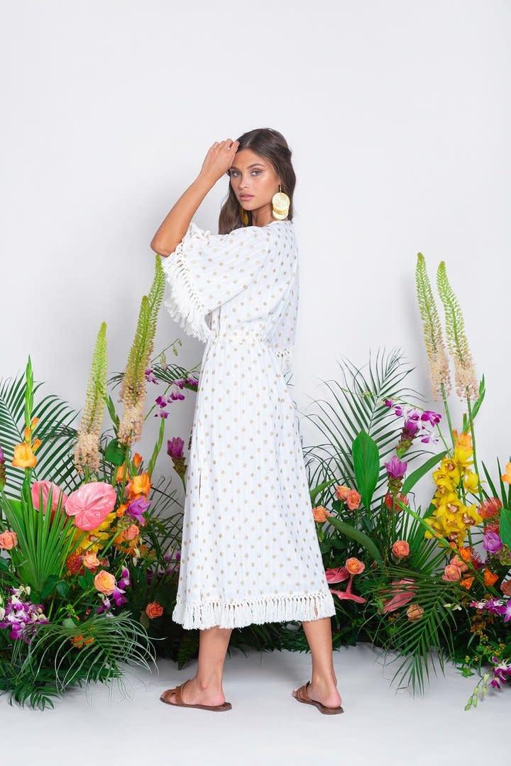 Sundress S/S Long Dress Janna Dubai coconut Sundress