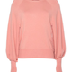 Twin-Set A/W Trui roze maxi maglia Twin-Set
