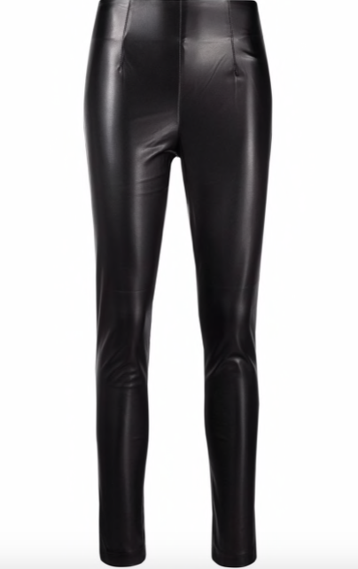 Twin-Set A/W Legging leather Twin-Set