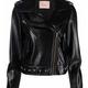 Twin-Set A/W Chiodo studded Biker jacket Twin-Set