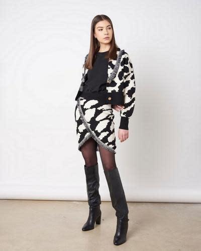 Silvian Heach A/W Jacket Sweater Palmdake Silvian Heach