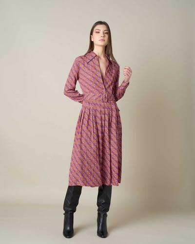 Silvian Heach A/W Long Dress Puscin Silvian Heach