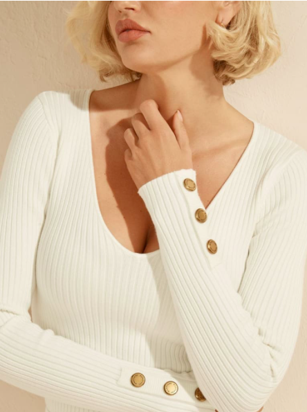 Guess by Marciano BUTTONS SWEATER MARCIANO