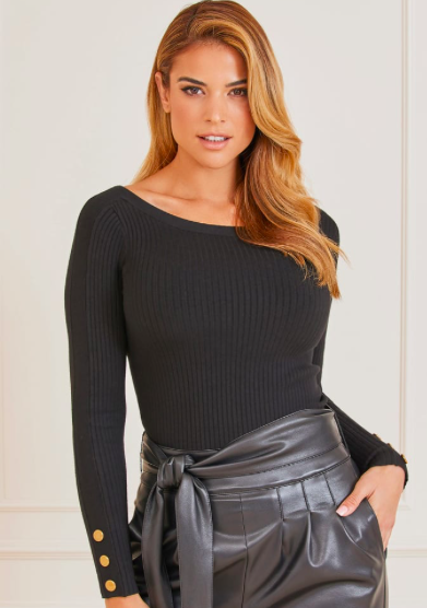 Guess by Marciano BOAT NECK SWEATER