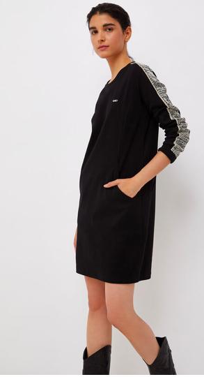 Liu.Jo Sport A/W SHORT DRESS WITH JACQUARD DETAILS LIUJO