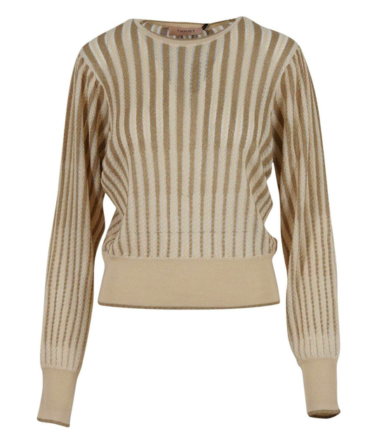 Twin-Set A/W TWINSET SWEATER IN WOOL WITH LUREX