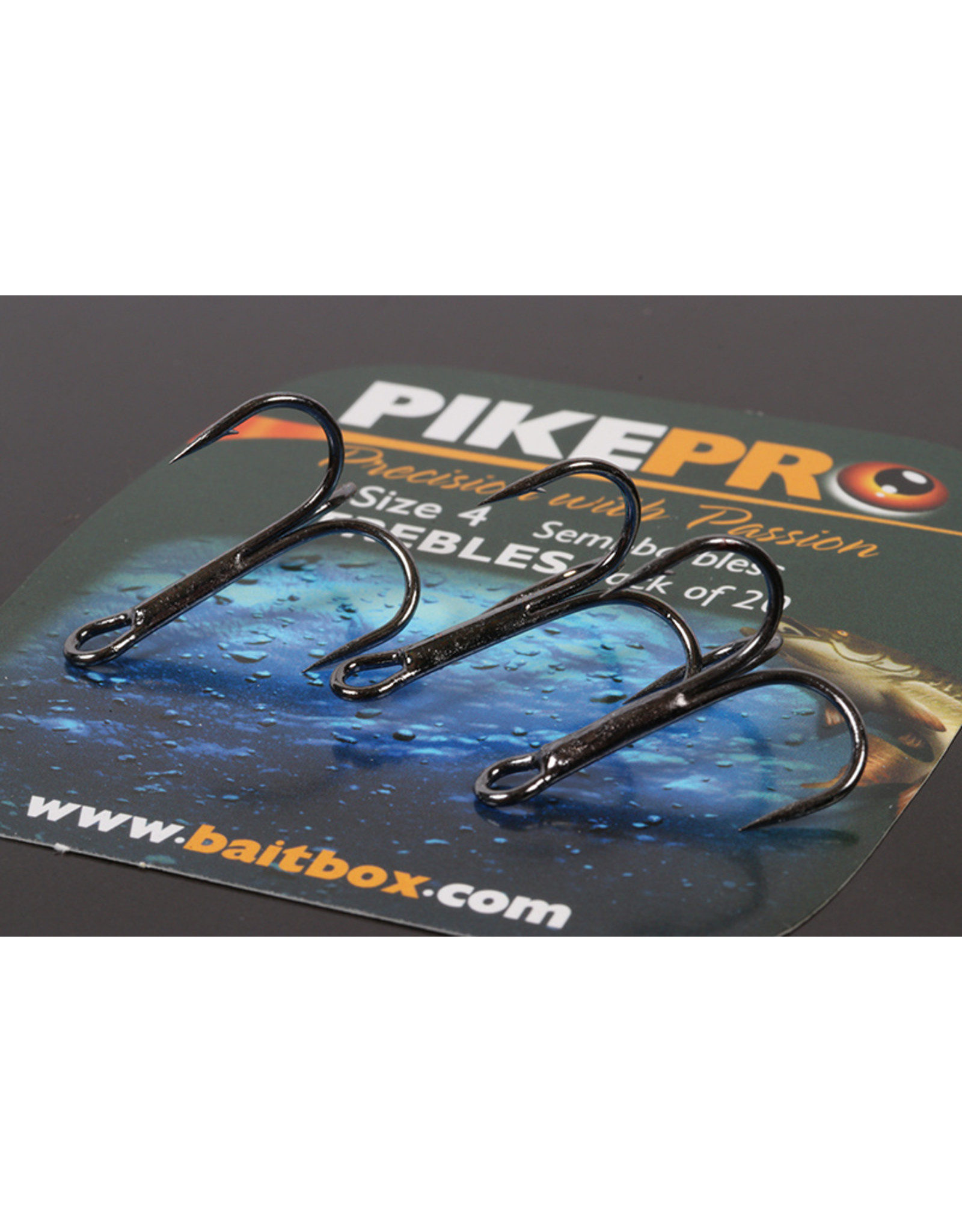 Pike Pro Pike Pro Trebles Barbed