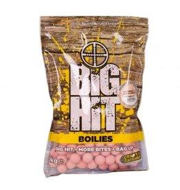 Crafty Catcher Big Hit Boilies 15mm 1kg inc Free Pop Ups