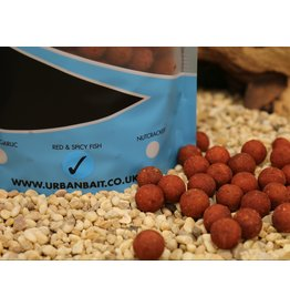Urban Bait Urban Bait Red Spicy Fish Boilie 1kg