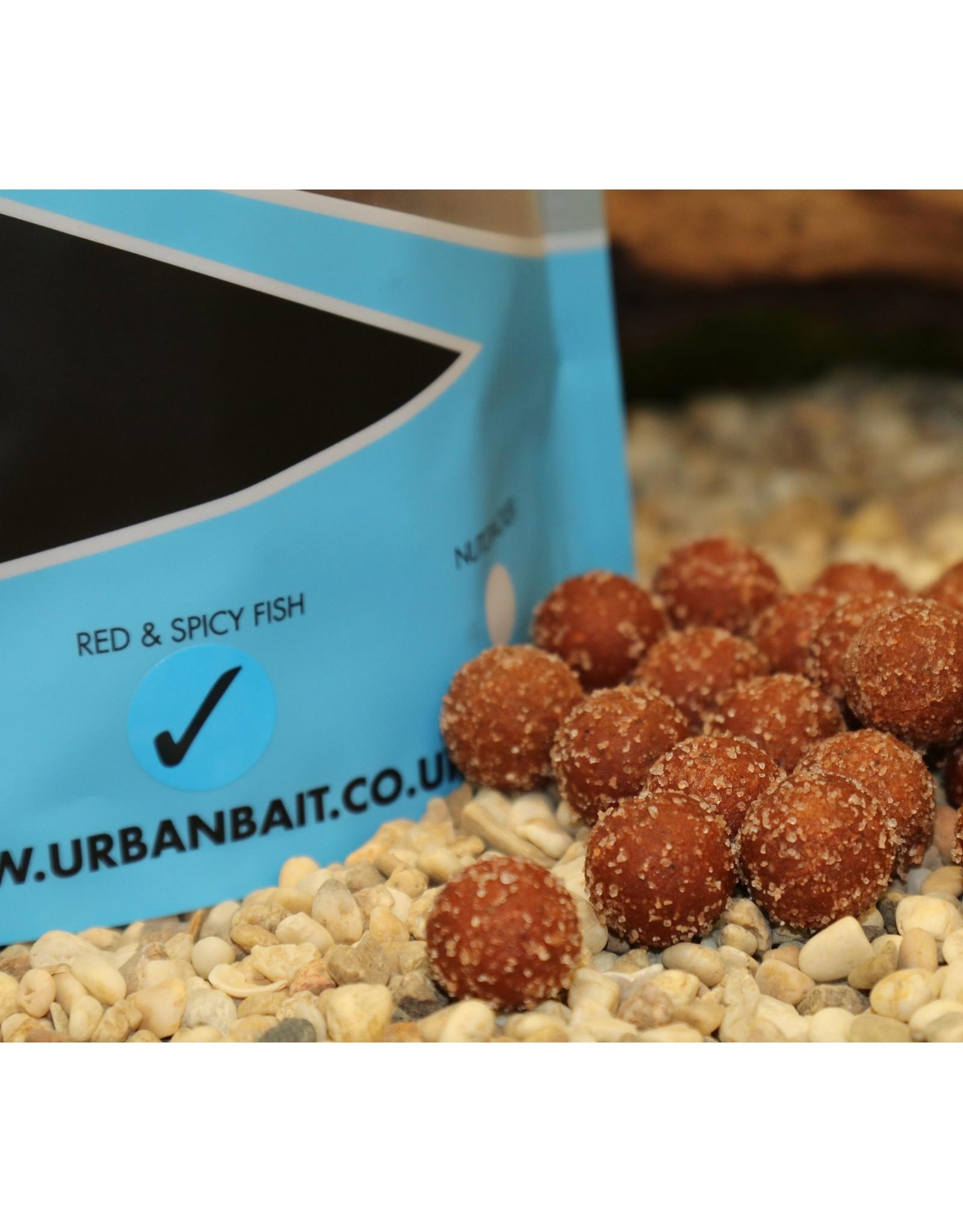 Urban Bait Urban Bait Red Spicy Fish Himalayan Salt Boilie 1kg