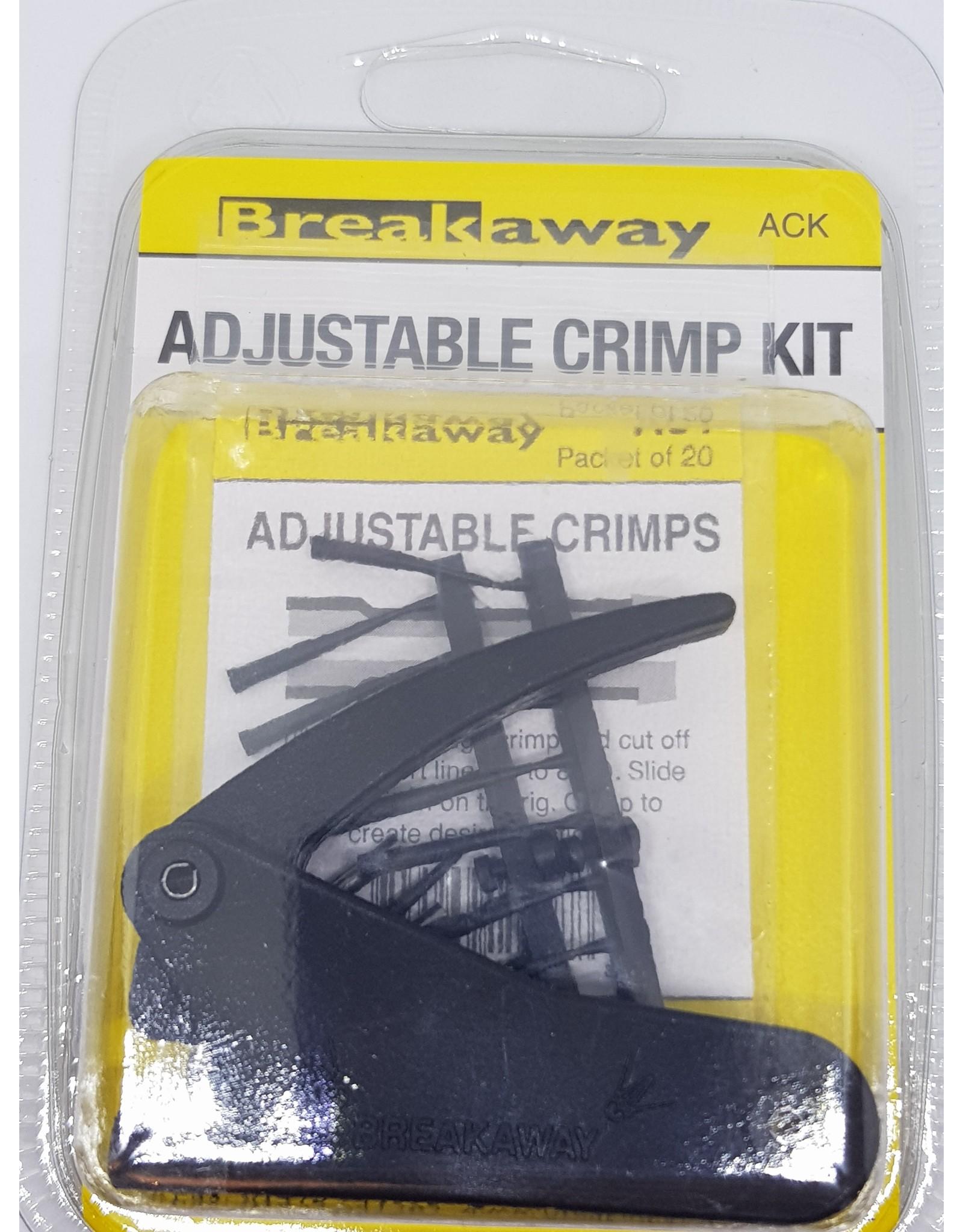 Breakaway Breakway Adjustable Crimp Kit