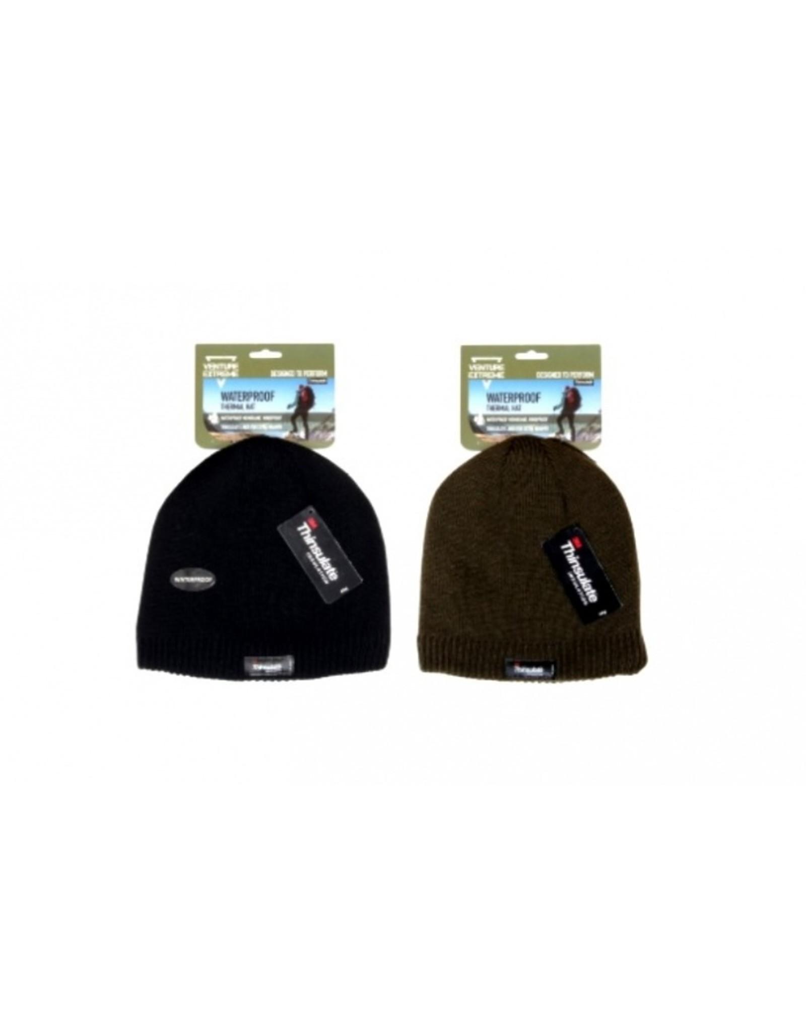 Venture Extreme Mens Knitted Waterproof Beanie Hat