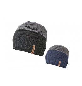 Rock Jock Mens 2 Tone Beanie Hat