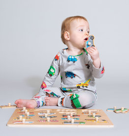 SNURK Jumpsuit Clay Cars