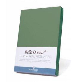 Bella Donna stretch hoeslaken - Olijfgroen