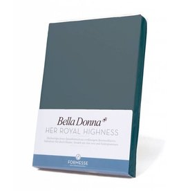 Bella Donna stretch hoeslaken - Blauwgrijs