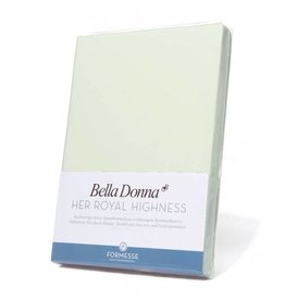 Bella Donna stretch hoeslaken - Pastelgroen
