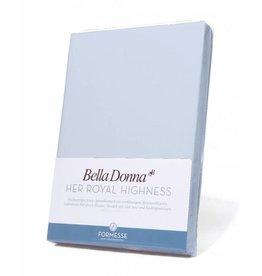 Bella Donna stretch hoeslaken - Hemelsblauw