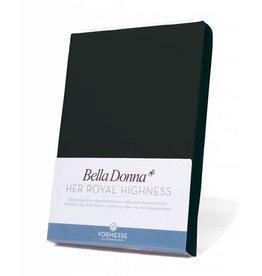 Bella Donna stretch hoeslaken - Zwart