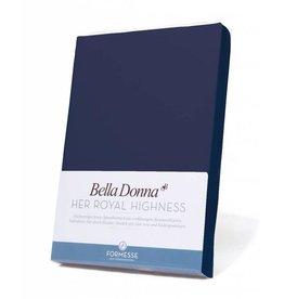 Bella Donna stretch hoeslaken - Marine