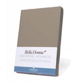 Bella Donna stretch hoeslaken - Muskaat