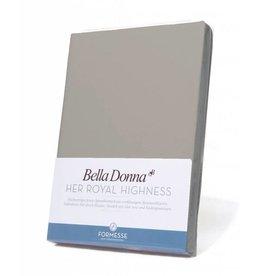 Bella Donna stretch hoeslaken - Grijs