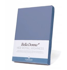 Bella Donna stretch hoeslaken - Jeansblauw