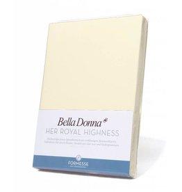 Bella Donna stretch hoeslaken - Poeder