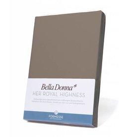 Bella Donna stretch hoeslaken - Platina