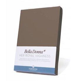 Bella Donna stretch hoeslaken - Truffel